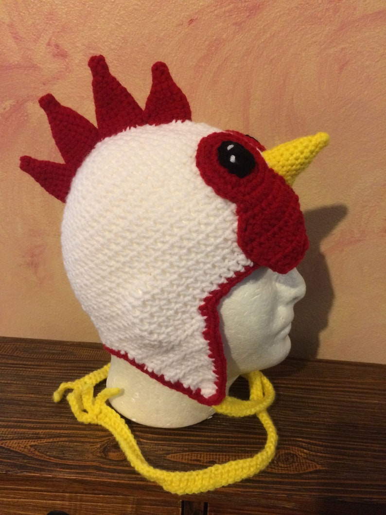 ChickenRooster earflap Hat
