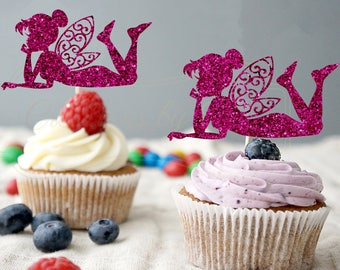 Fairies Cupcake Toppers - 12ct