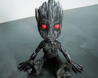 Dark Groot - Hand painted Figurine