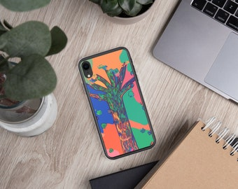 Colorful Tree Spring Blooms Colors Abstract Art Phone Case for iPhone 6, 6 Plus, 6s, 6s Plus, 7, & Plus, 8, 8 Plus, iPhone X 10