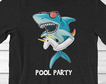 bf4673328 More colours. Pool Party Shark Shirt ...