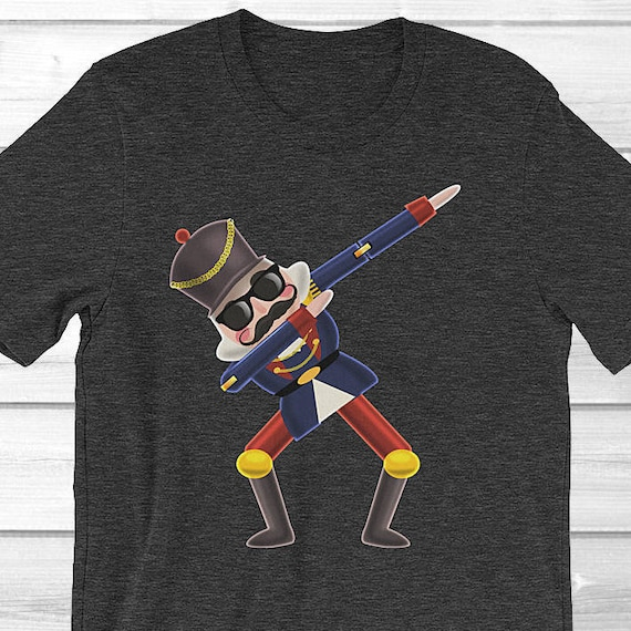 ff63291fe Nutcracker Christmas Shirt for Men / Dabbing Nutcracker Shirt | Etsy