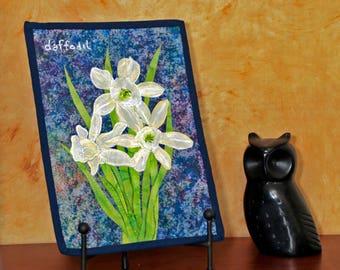 Daffodils - Miniature Wall Quilt
