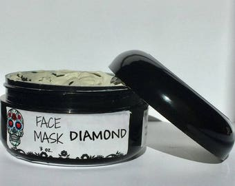 Natural Facial Clay Mask - Ready to Use - 2 oz. French Red Clay. Pink Australian Clay. White Kaolin Clay. Activated Charcoal Mask. Bentonite