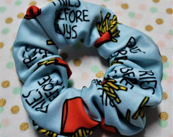 Invader Zim Inspired Scrunchie  Nickelodeon  Cartoon  Gift Exchange  Party Favor  Care Package  VSCO Girl