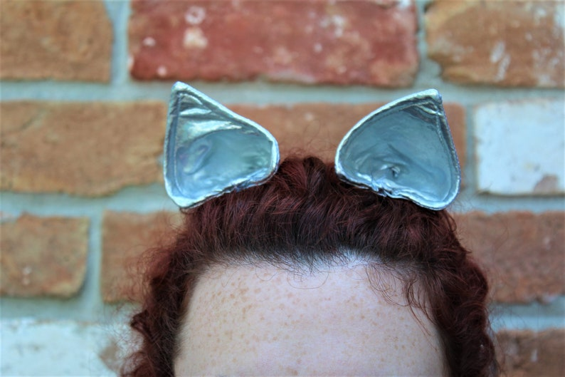Silver Cat Ears / Pony Ears / Space / Metallic / Cosplay / image 0