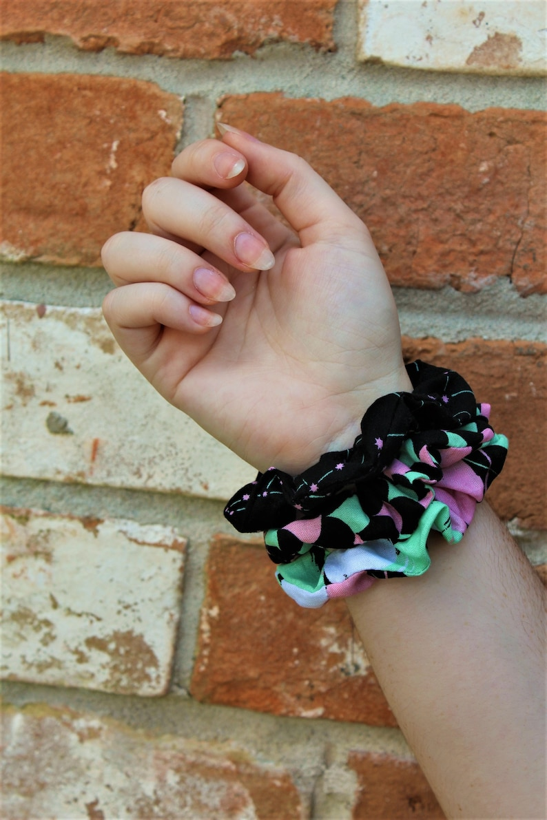 Constellations / Space / Galaxy / Set of 3 Scrunchies / image 0