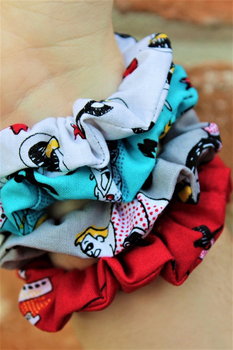 The Incredibles Inspired Scrunchies / Scrunchie / Top Knot / image 0