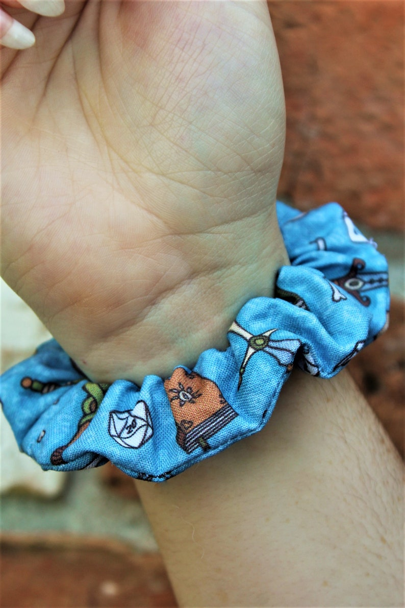 Dungeons and Dragons Inspired Scrunchies / Scrunchie / Top image 0