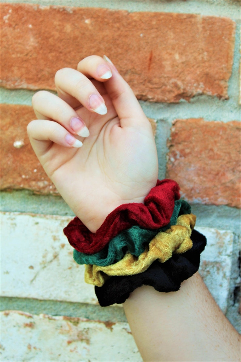 Velvet Scrunchies / Scrunchie / Party Favor / Care Package / image 0