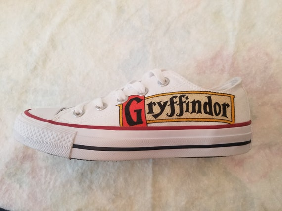 Harry Potter Hand Painted Converse