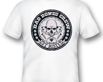 Bad Bones crew 1227 tee shirt 08012016