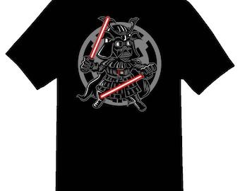 Darkside Samurai Tee Shirt 08162017