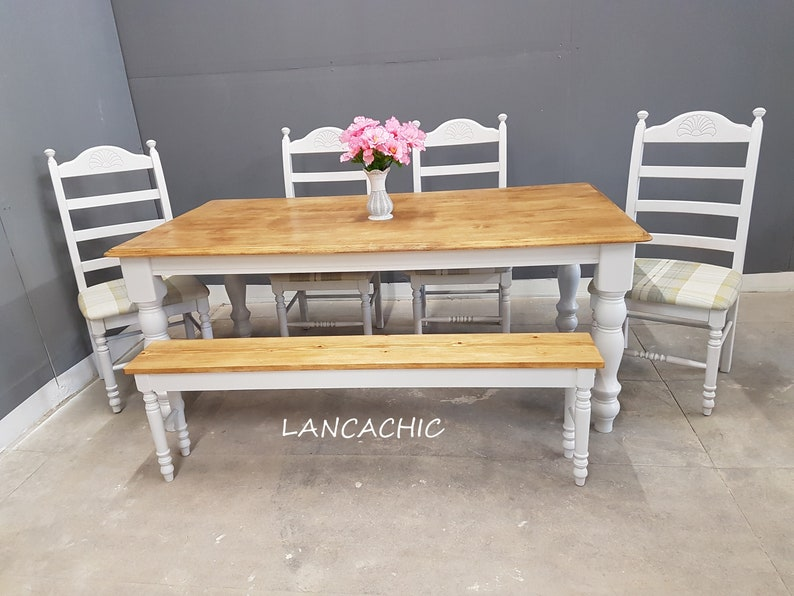 Prime Stunning 6Ft Table 1 Or 2 Bench 2 Or 4 Chair Set Alphanode Cool Chair Designs And Ideas Alphanodeonline