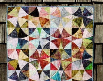 Batik Kaleidoscope  Quilt