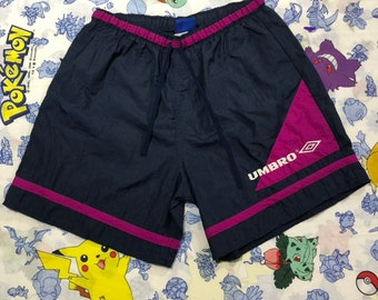 54a888e45 Vintage Made in USA Umbro Soccer Shorts Womens Size Large