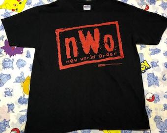 203817649adfd1 Vintage NWO New World Order WCW 1998 Size XL