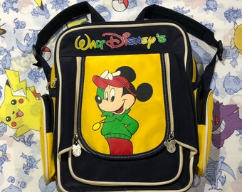 fdf17fca7cd Vintage Walt Disney Mickey Mouse Backpack