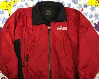 462a6822a Coca cola jacket | Etsy