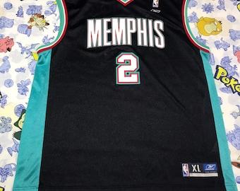 Reebok NBA Throwback Jason Williams Memphis Grizzlies Jersey Size XLarge 48 2d07a1baf