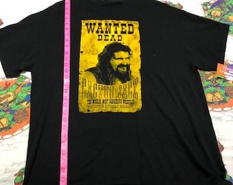 7a9e8114b Vintage WWF cactus Jack Mick Foley dude love Terry Funk ECW shirt size XL