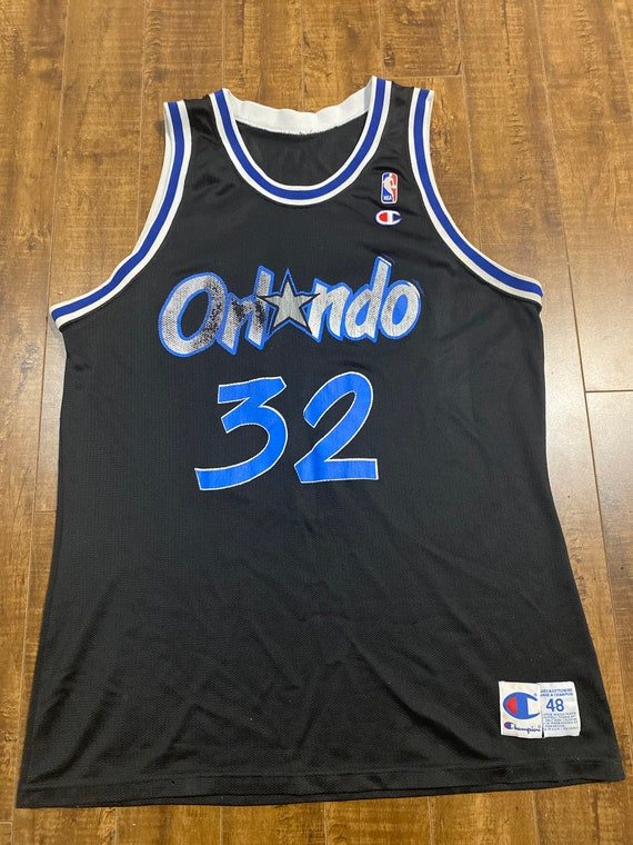 Champion Shaquille Oneal Orlando Magic 90s Jersey
