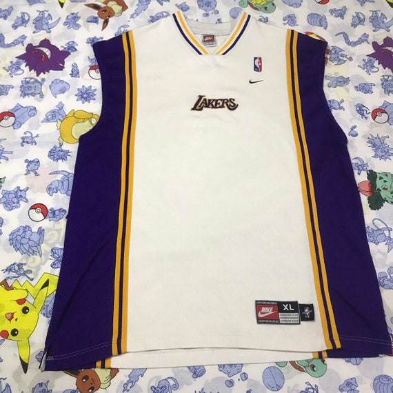 Vintage Authentic Nike Team Jersey Los Angeles Lakers Warm Up  8601d60c8