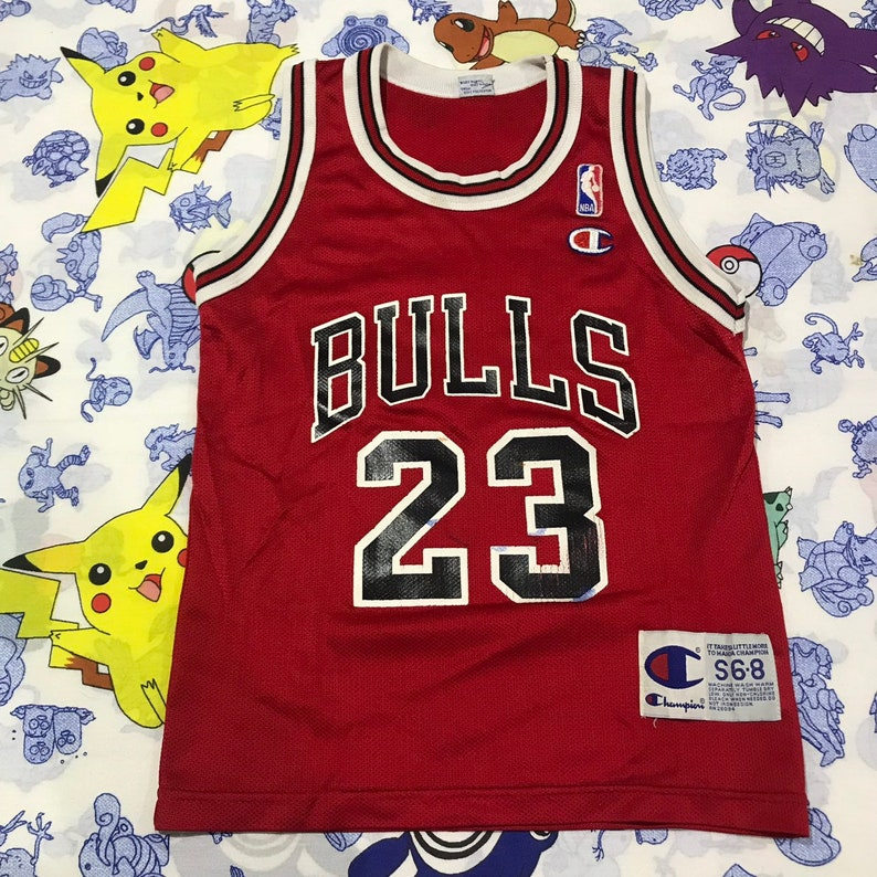 d5269fafafab Vintage Champion NBA Chicago Bulls Michael Jordan Size Toddler