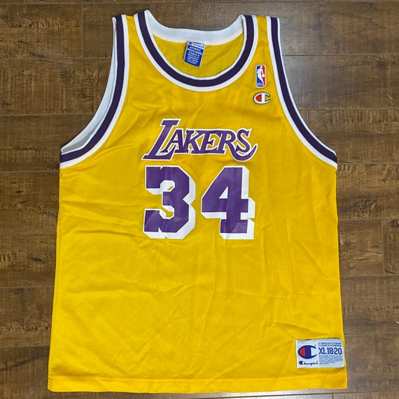 Shaquille Oneal Los Angeles Lakers Throwback Swing