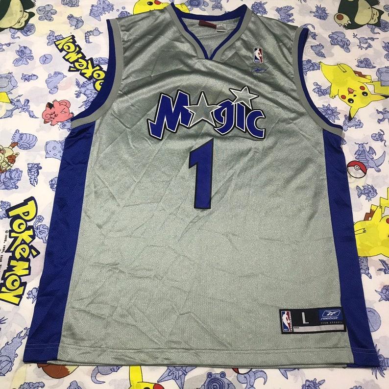 391e9459e6f Vintage NBA Reebok Orlando Magic Tracy McGrady Jersey Size