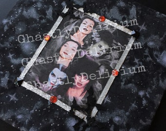 Lovely Ghouls Makeup/bag / clutch/ pouch