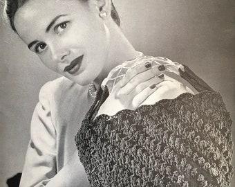 PDF Crochet Peek-A Boo Bag