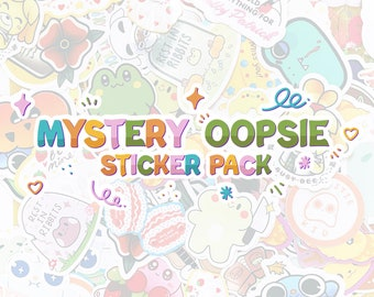 Mystery Sticker OOPSIE Bags Assorted themes