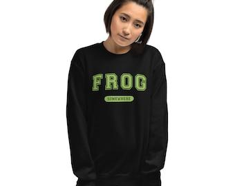 Frog Sweatshirt University College Apparel
