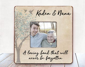 Grandma Memorial frame Sympathy Gift Condolences Gift Memorial picture frame Bereavement frame Sympathy gift Remembrance Bereavement Gift
