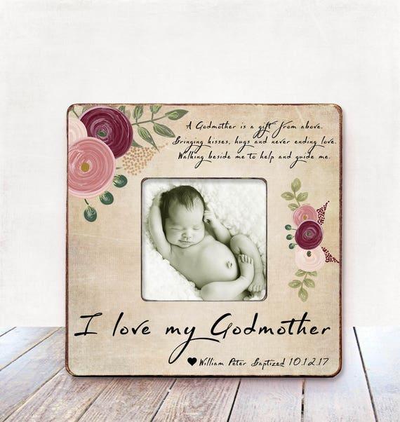 Godmother Gift for Godmother Baptism Gift Godmother | Etsy