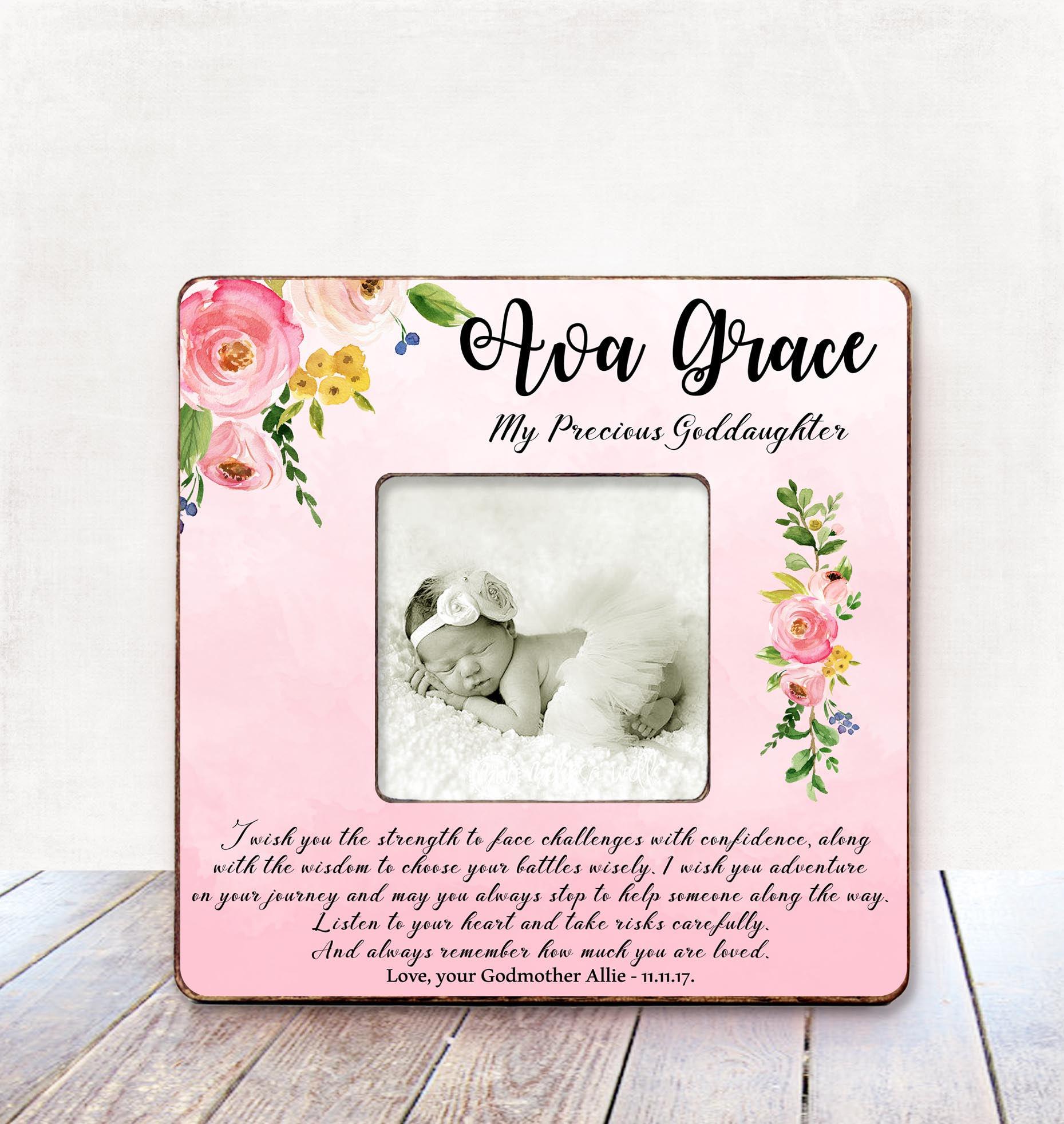 Goddaughter Gift Christening Gift New Born Baby Girl Gift | Etsy