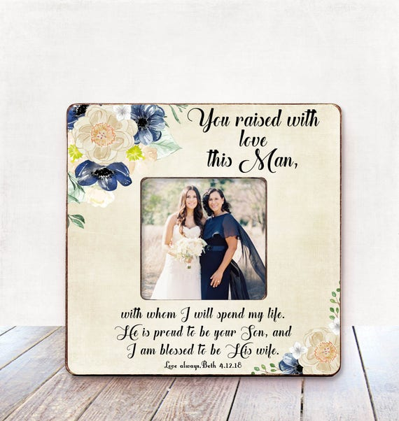 Mother of the Groom Wedding Gift Mother of the Groom Frame | Etsy
