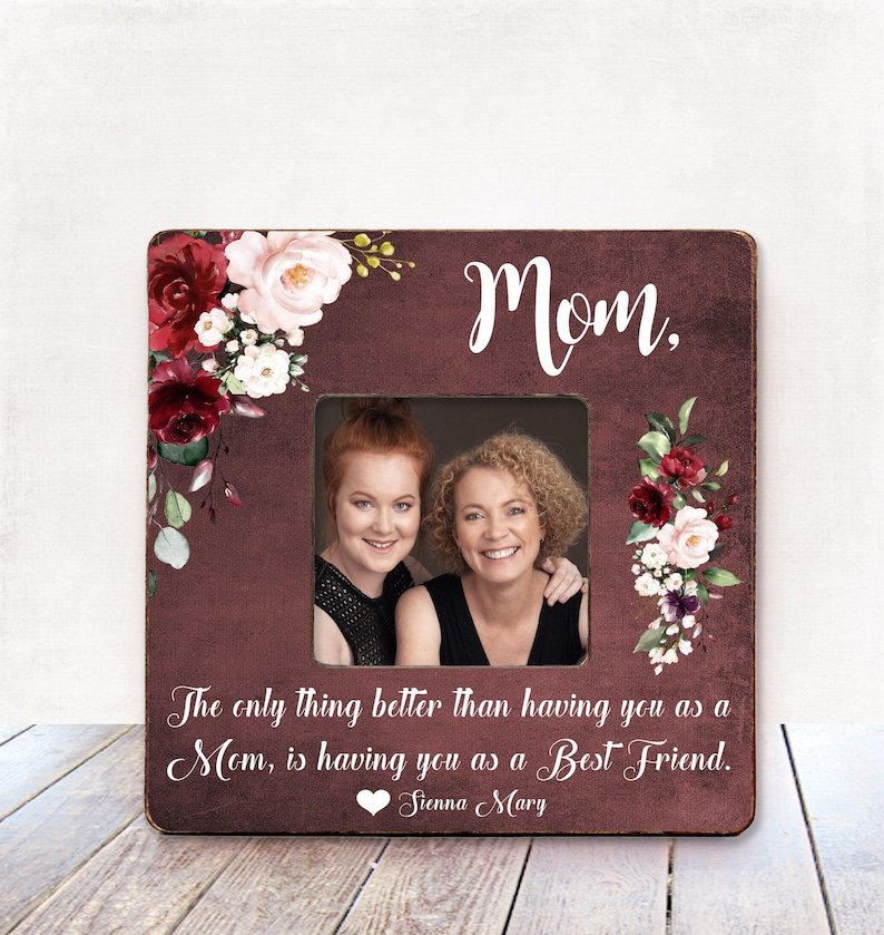 Christmas Gifts For Mom From Daughter.Christmas Gift For Mom From Daughter Gift For Mother Christmas Gift Mother Daughter Gift Personalized Picture Frame Mom Frame Gifts For Mom