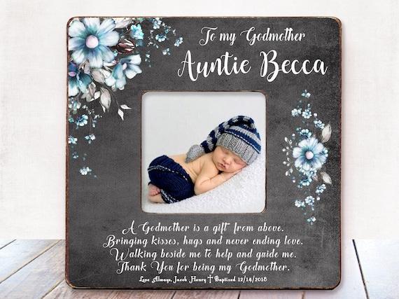 Patin Geschenk Für Patin Taufe Geschenk Patin Taufe Geschenk Patin Rahmen Paten Geschenk Von Patenkind Personalisierte Rahmen Tante