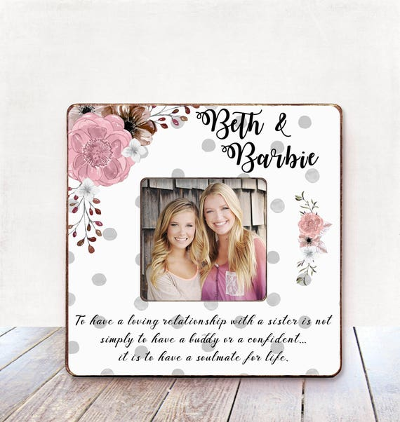 Sister Birthday Gift For Gift Sister Wedding Gift Sister Etsy