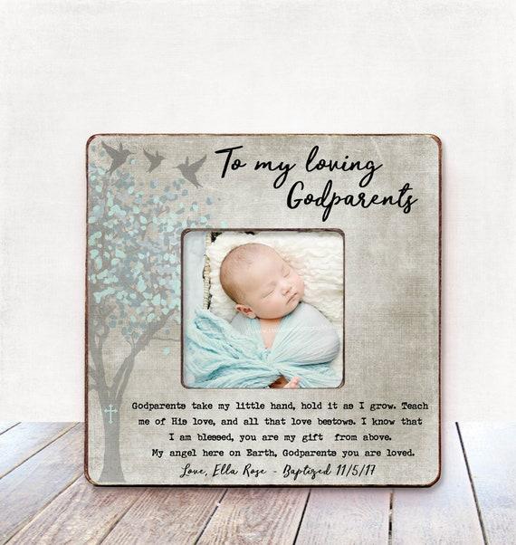 Paten Taufe Geschenk Für Paten Taufe Geschenk Paten Rahmen Pate Geschenk Patin Geschenk Personalisierte Bilderrahmen Baby