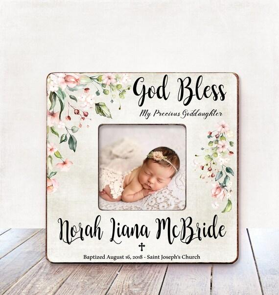 Taufe Geschenk Mädchen Taufe Mädchen Personalisiertes Bild Rahmen Taufe Geschenk Für Patenkind Patentochter Taufe Geschenk Taufe B1