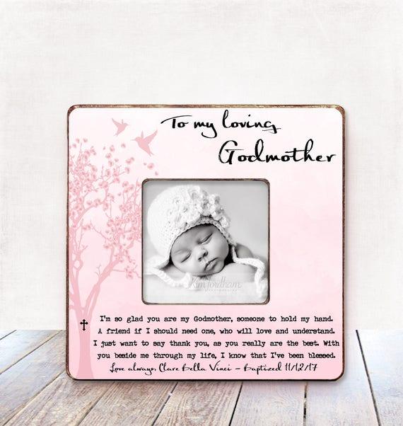 Godmother Gift Baptism Gift Godmother Christening Gift | Etsy