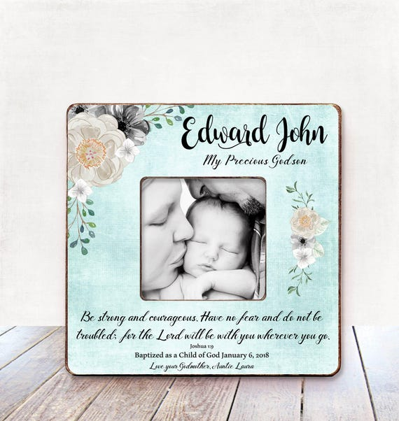 Gift from Godmother for Godson Christening Gift from | Etsy