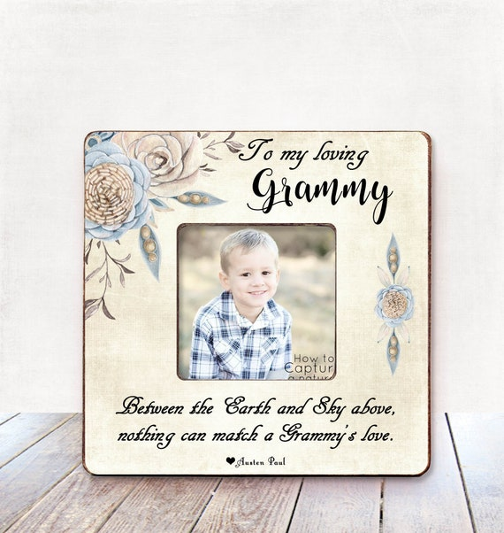 Mothers Day Gift for Grandma Mother\'s Day Frame Nana Gift | Etsy