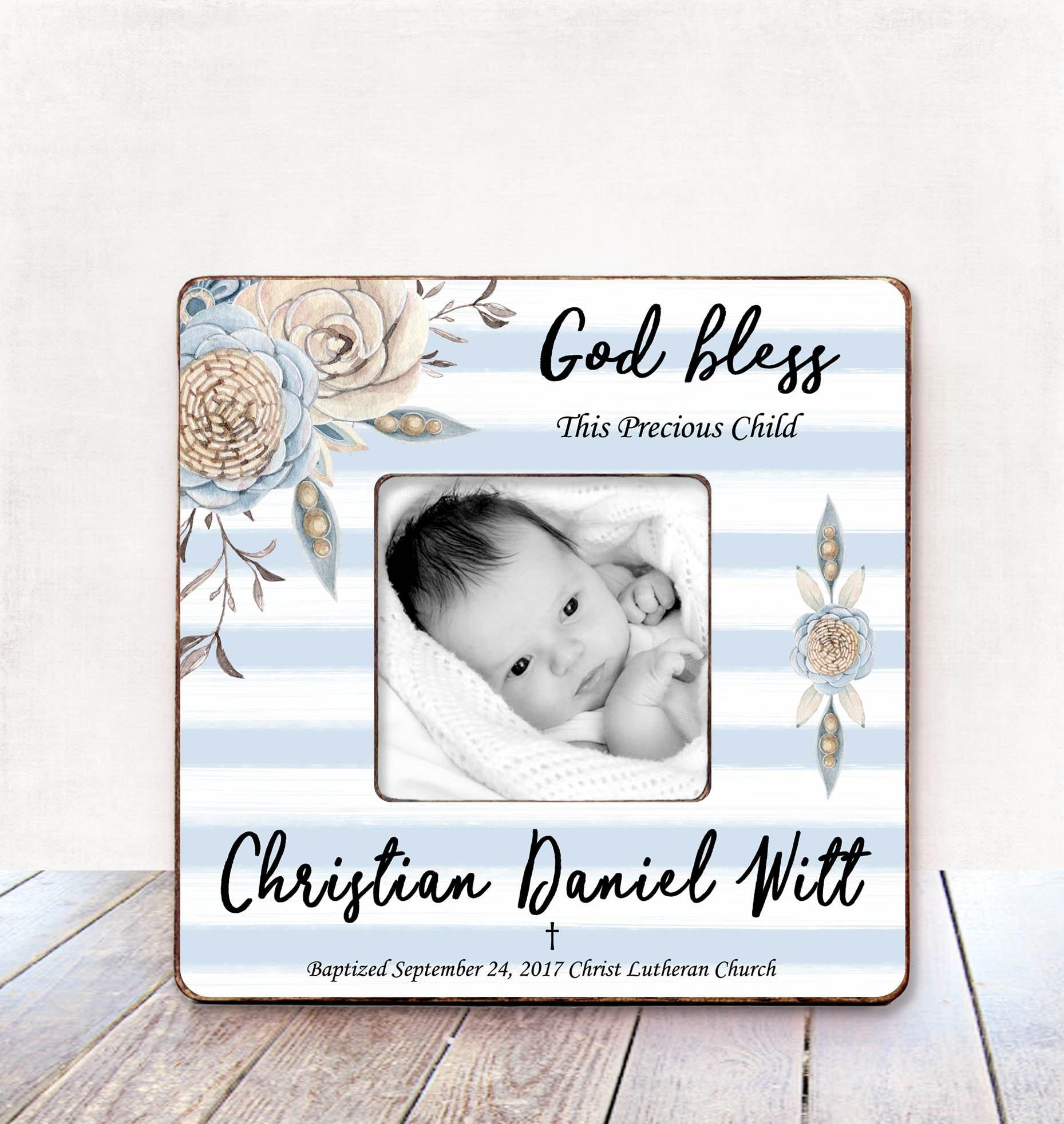 Baptism Gift for BOY Baptism Gift for Godson Baptism gift from ...