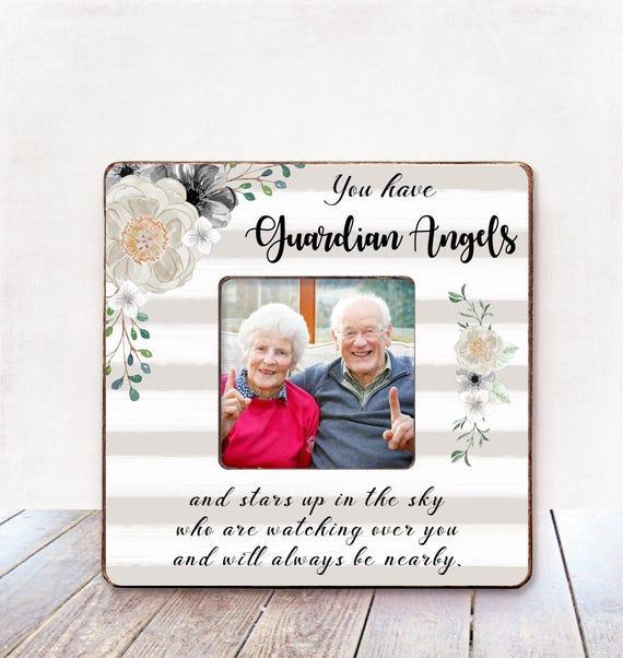 Grandparents Memorial frame Remembrance Frame for Grandchild | Etsy