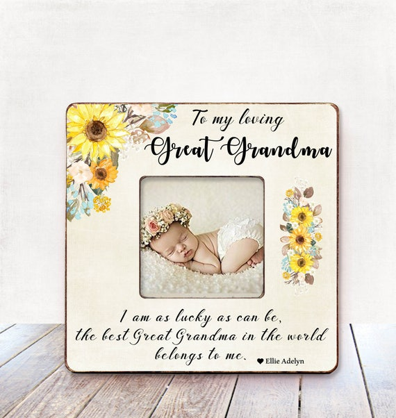 Great Grandma Christmas Gift Photo Frame
