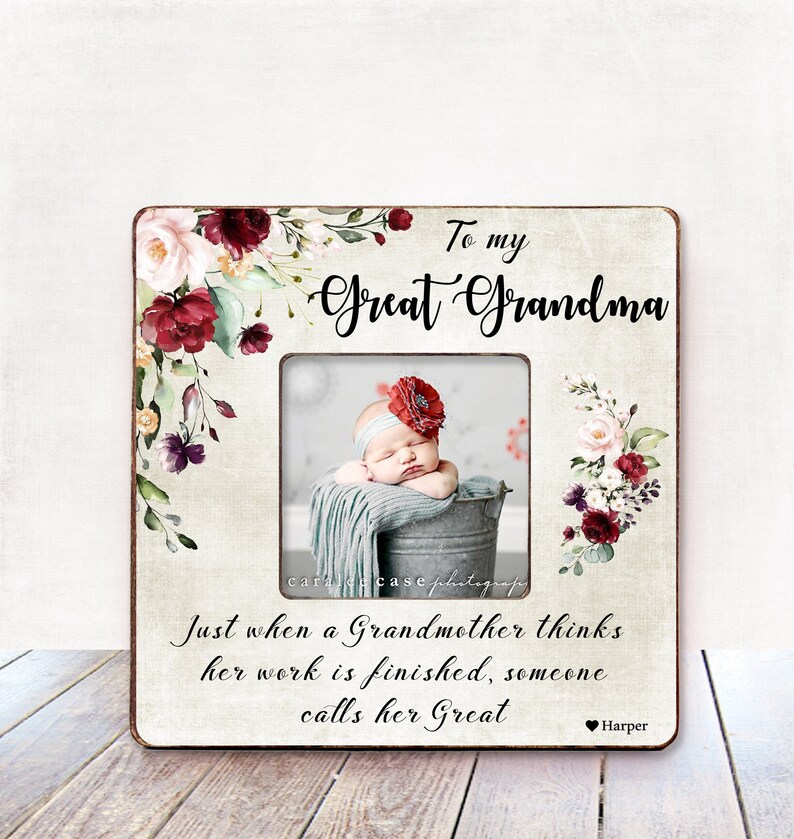 Great Grandma BIRTHDAY Gift Photo Frame